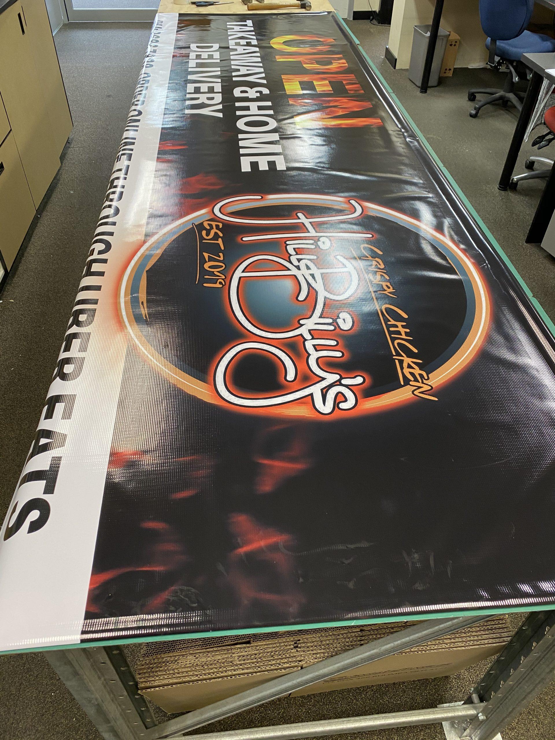 Hillbillys Vinyl Banner Large