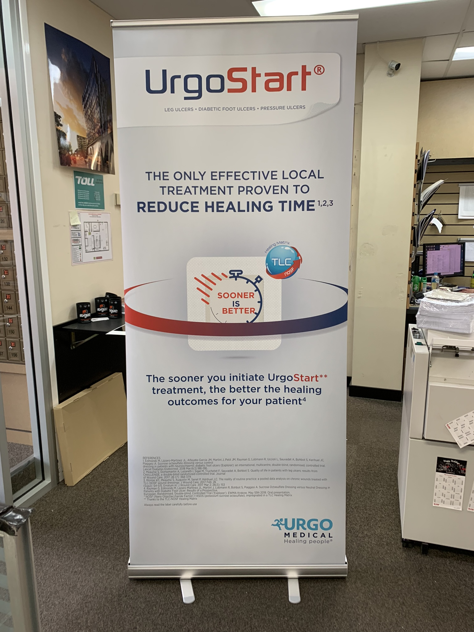 Pull Up Banner Medical Company